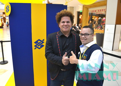 9-22-16 - BB Americas / Romero Britto announcement at Aventura Mall