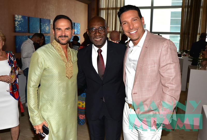 Dr Marco Contreras, Jean Raymond Alexandre, Alessandro Alembert