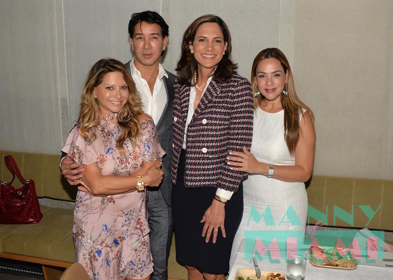 Ingrid Hoffman, Rene Ruiz, Maria Elvira Salazar, Adriana Hernandez