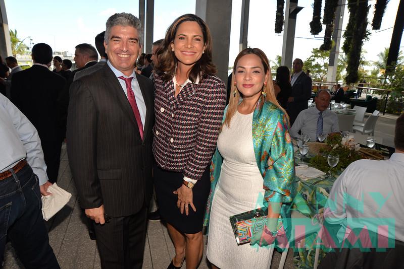 Carlos Rosso, Maria Elvira Salazar, Adriana Hernandez