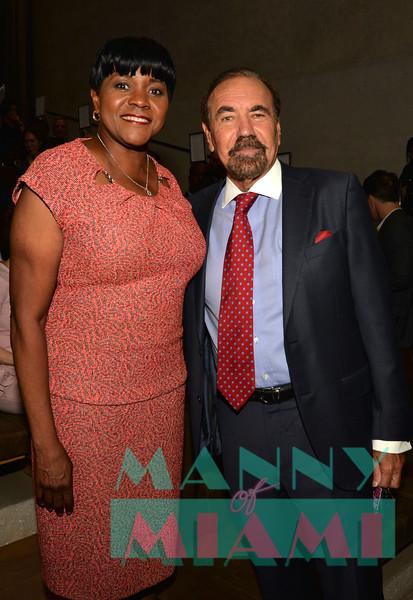 Commissioner Audrey Edmonson, Jorge Perez