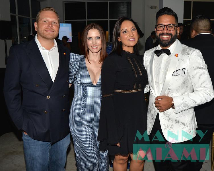 Wes Ferrell, Helen Ferrell, Arti Patel, Ricky Patel