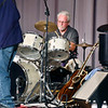 Dave Huff played the drums for the  Little Bit Country Jamboree.