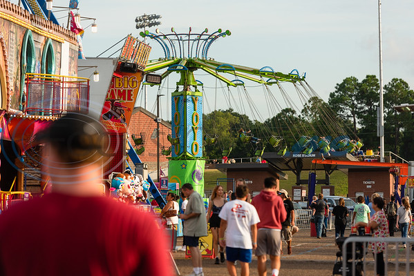 Tylerites enjoy opening day of the East Texas State Fair Friday, Sept. 20, 2019, in Tyler. (Cara Campbell/Tyler Morning Telegraph)