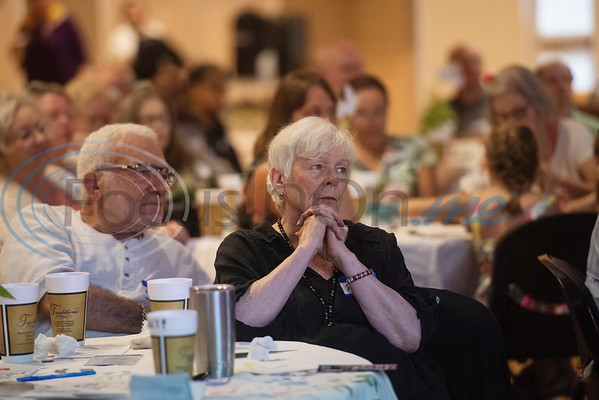 Howard and Deanne Kravets of Bullard attend the Peace Meal for the Art of Peace Week at the Ornelas Activity Center on Saturday Sept. 21, 2019.  (Sarah A. Miller/Tyler Morning Telegraph)