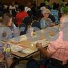Senior citizens play bingo at the East Texas State Fair.