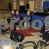 Jacksonville Chair Dancers teach dance moves to senior citizens at the East Texas State Fair.