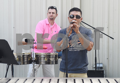 The band Codigo performs during the Catholic Charities Family Fun Day at Tyler Indoor Sports Complex Saturday Sept. 24, 2016.  (Sarah A. Miller/Tyler Morning Telegraph)