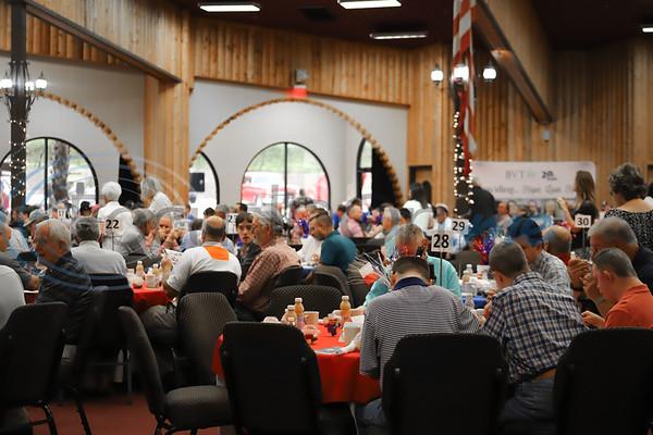 11th Annual Robert L Breckenridge Men's Breakfast hosted at KE Bushmans in Bullard. Sarah Perez/Freelance