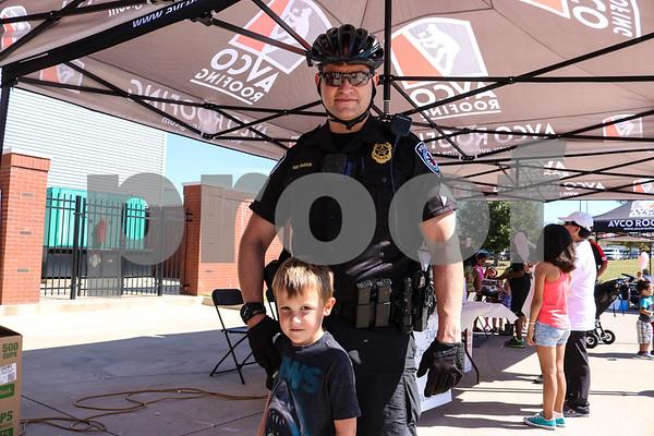 Texans against crime event