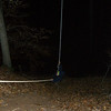Scottyfl on rope swing coming back up
