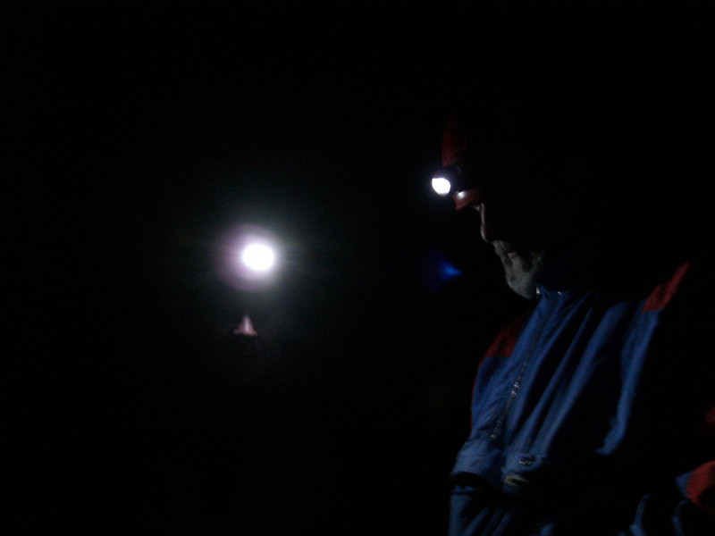 EZ and Blinky - head lamps are great
