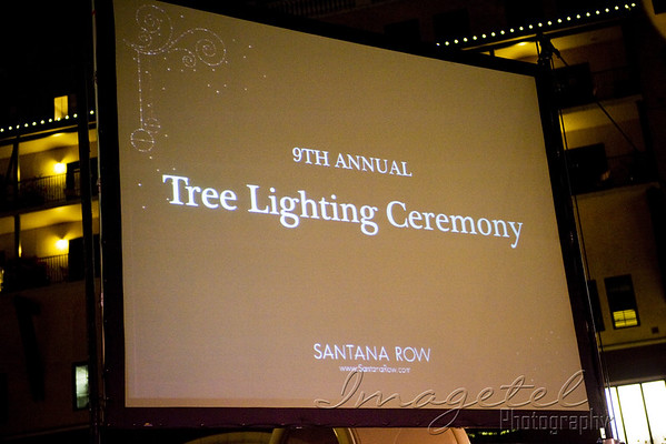 9th Annual Santana Row Light Ceremony 2010