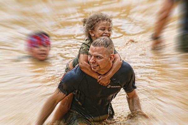 9th Annual USMC Mud Run, 2 June 2018