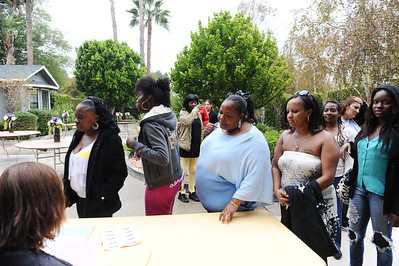 """""""A DAY FOR YOU EVENT"""" WAS HELD ON OCTOBER 20 2013 WITH FOUNDER & CEO BELINDA F BAKER ALONG WITH ACTRESS TISHA CAMPBELL-MARTIN/HOPEFUL TO HIRE! BACK TO-BUSINESS LIFESTYLE MAKEOVERS """"CHANGE THE LIVES OF STRUGGLING WOMEN. EVENT WAS HELD IN NORTH HILLS ON OCTOBER 20, 2012 (Photo by Valerie Goodloe)"""