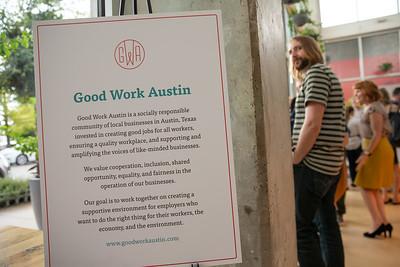 A Good Work Austin Benefit 6/27/2019