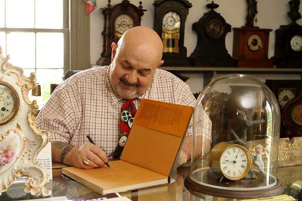 Noted author, scholar and nationally recognized authority on American clocks, Chris Bailey retires from the American Clock and Watch Museum after 38 years.
