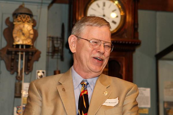 NAWCC Treasurer,Tom McIntyre