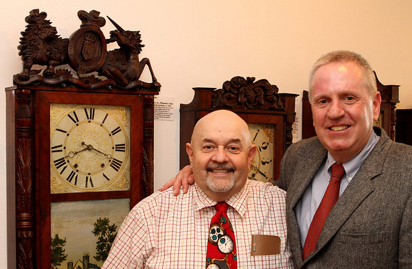 Old Buddies: Chris Bailey with Robert Cheney