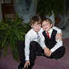 Zac & Joshua were very well-behaved during the wedding ceremony.