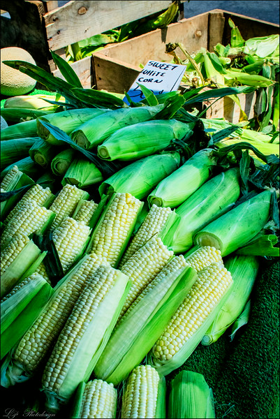 Day 28, Sweet White Corn at Corona Farmers Market