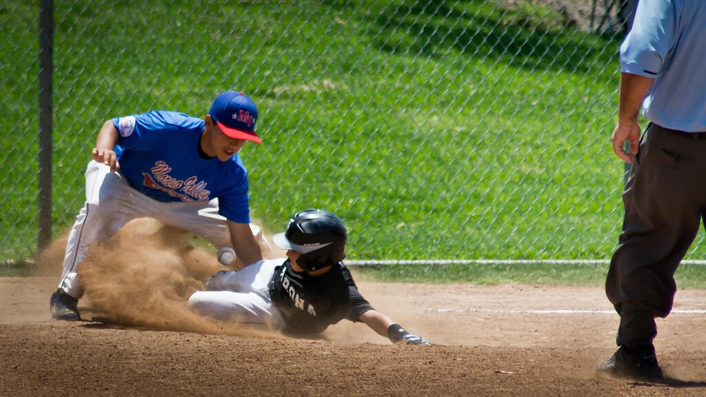 Corona Pony Baseball, Moreno Valley, Santana Regional Park, California