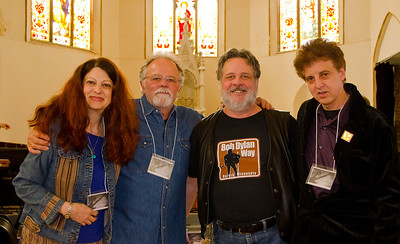 Scarlet Rivera, Gene LaFond, Nelson French, and Marc Percansky