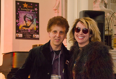 Marc Percansky with Courtney Yasmineh