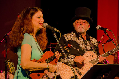 Scarlet Rivera & Gene LaFond once again sharing the stage
