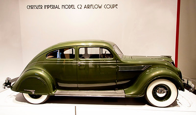"""1935 Chrysler Airflow, Model C2.  (We called this """"the car of the future"""" when I was a kid.)"""