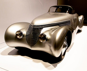 """Front view of the Hispano-Suiza H6B Dubonnet """"Xenia"""" coupe"""