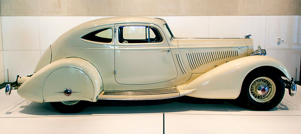 ... and first thing we see is this Packard Twelve, Model 1106.
