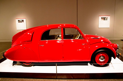 Tatra T-97 -- Czech car, possibly a precursor of the VW Beetle.