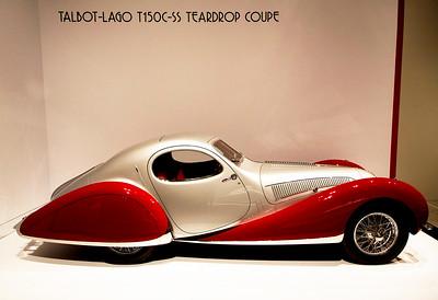 Talbot-Lago T150C-SS Teardrop Coupe