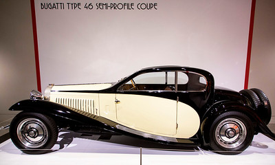A Bugatti Type 46 coupe