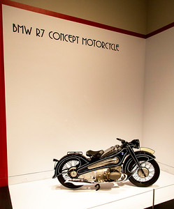 BMW R7 motorcycle (built only as a concept, but never produced)
