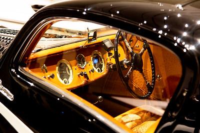 """Delahaye 135M coupe """"cockpit"""""""