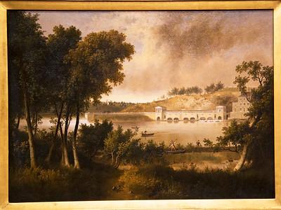 "Thomas Doughty, ""View of the Fairmount Waterworks ..."" ca. 1825 ..."