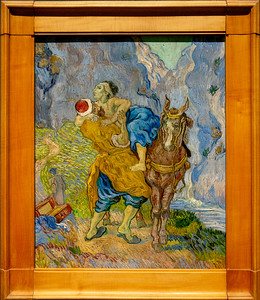 van Gogh: Good Samaritan (after Delacroix)
