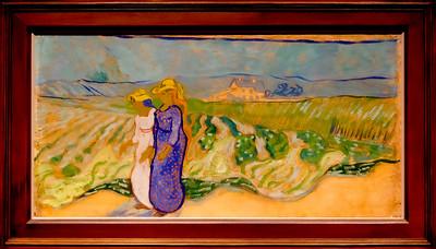 van Gogh: Women Crossing the Fields