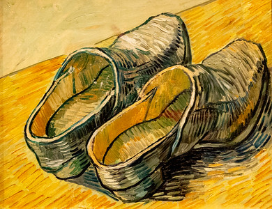 van Gogh: A Pair of Leather Clogs