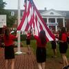 Flag raising ceremony