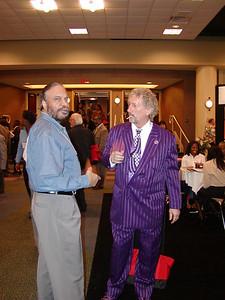Dr. Thomas Landefeld (purple suit)