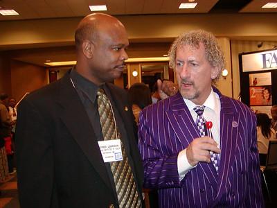 Dr. Alfred Johnson (NIH) and Dr. Thomas Landefeld (California State Univ. Dominguez Hills)