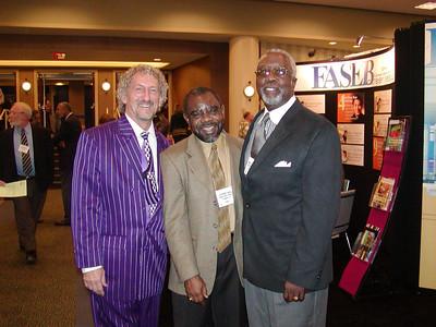 Dr. Landefeld, Dr. Madu and Dr. Story
