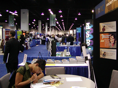 "A view of ""FASEB Row"" at ABRCMS 2006"