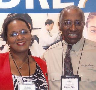 Jacquie Roberts and Howard Adams