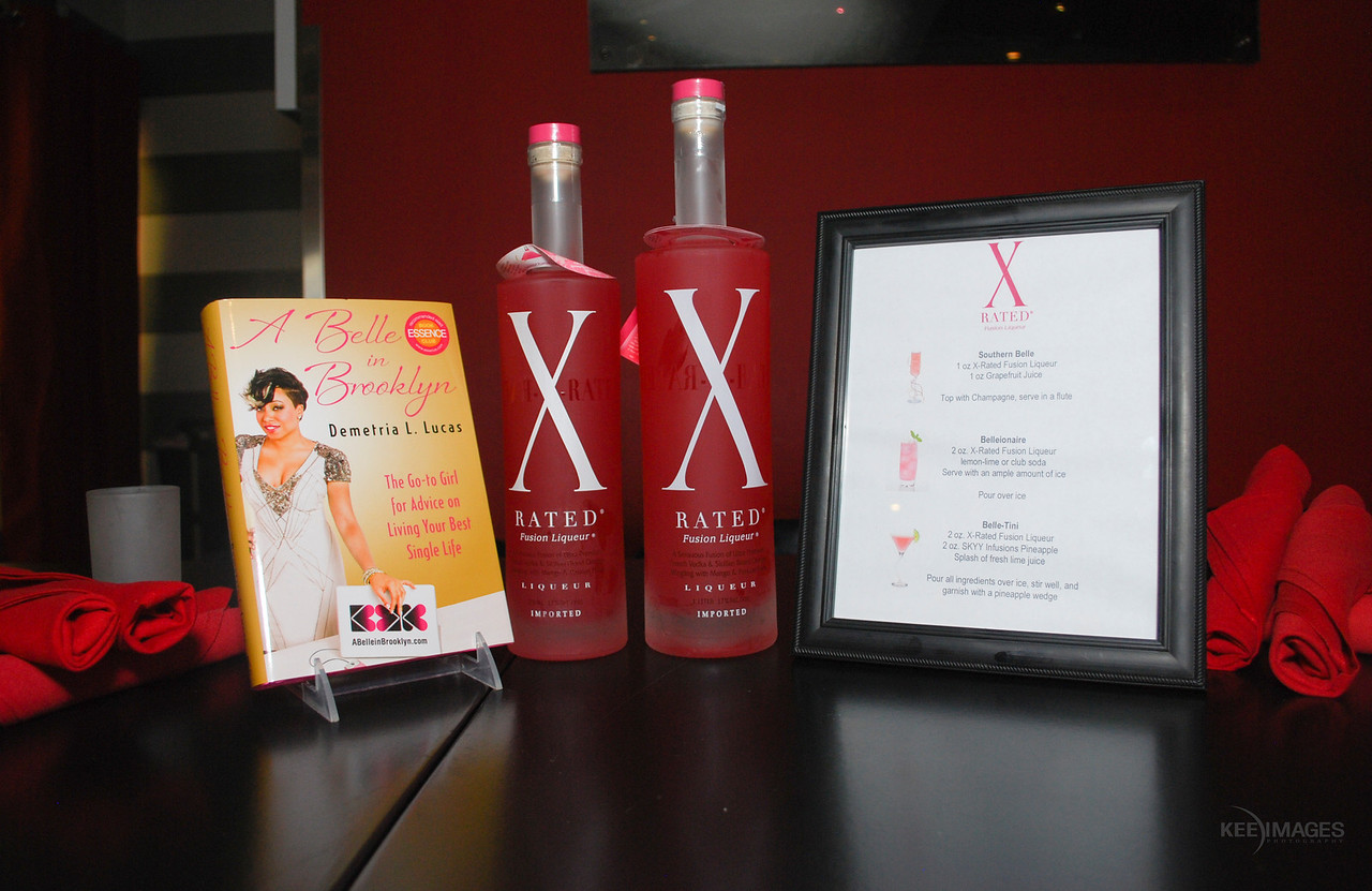 """X-Rated Fusion Liqueur celebrates book Tour of """"A Belle In Brooklyn (Your Go-To Girl For Advice on Living Your Best Single Life) by Relationships Editor, Essence Magazine Demetria L. Lucas"""