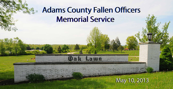 AC Fallen Officers - 2013