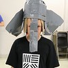 Daniel in the Elephant Head he created